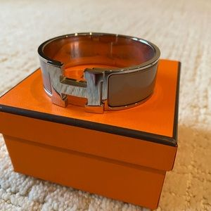 Hermes Click H Maron Glacé T1 Size Small
